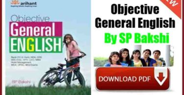 Objective General English By SP Bakshi