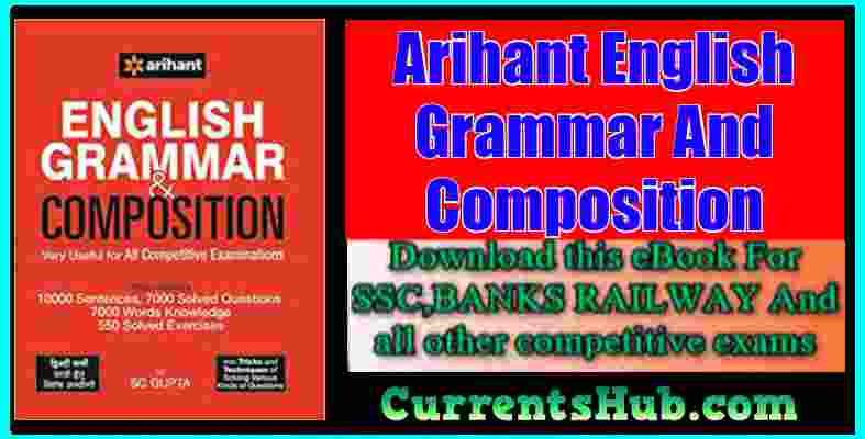 Arihant English Grammar And Composition