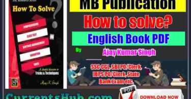 How to solve PDF Book By Ajay Kumar Singh