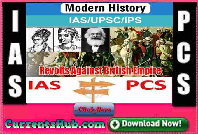 Revolts Against British Empire