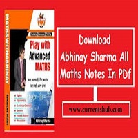 Collection of Maths With Abhinay Sir Download Free PDF