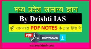 Madhya Pradesh GK Notes