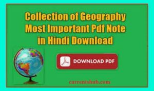 geography gk in hindi pdf