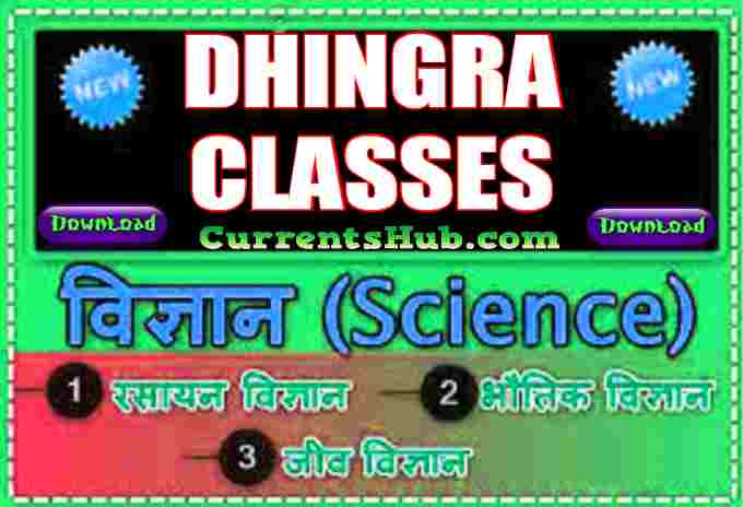 General Science PDF Notes in Hindi For Competitive Exams