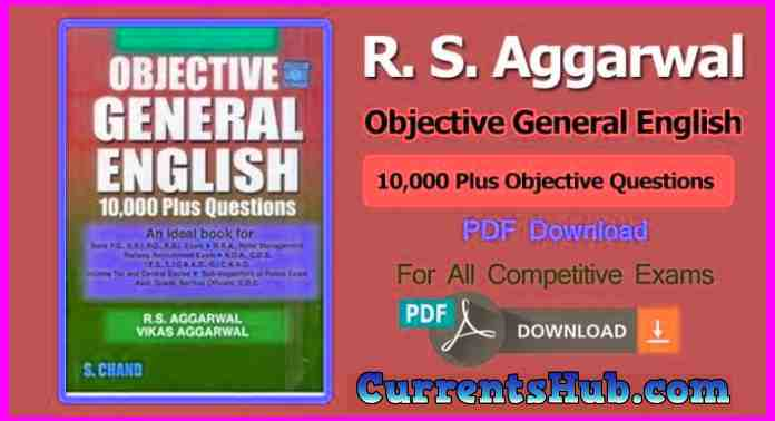 R. S. Aggarwal Objective General English