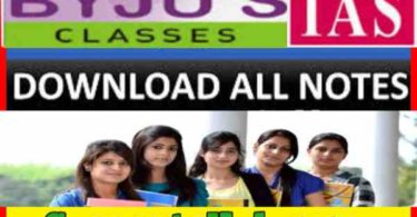 BYJUS CLASSES complete Coaching Study Material