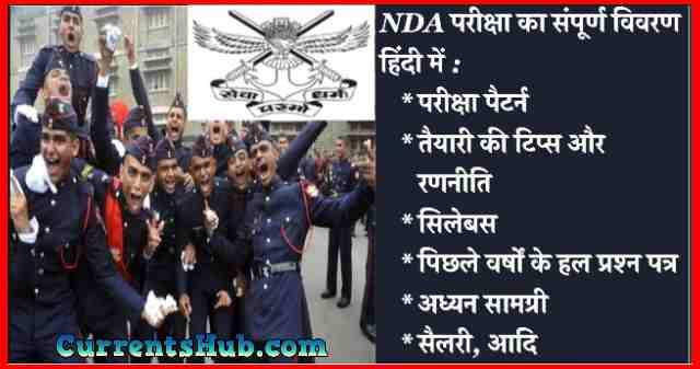 NDA Exam Complete Details