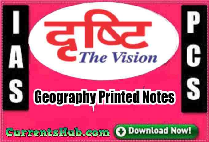 Drishti IAS Geography(भूगोल) Printed Notes