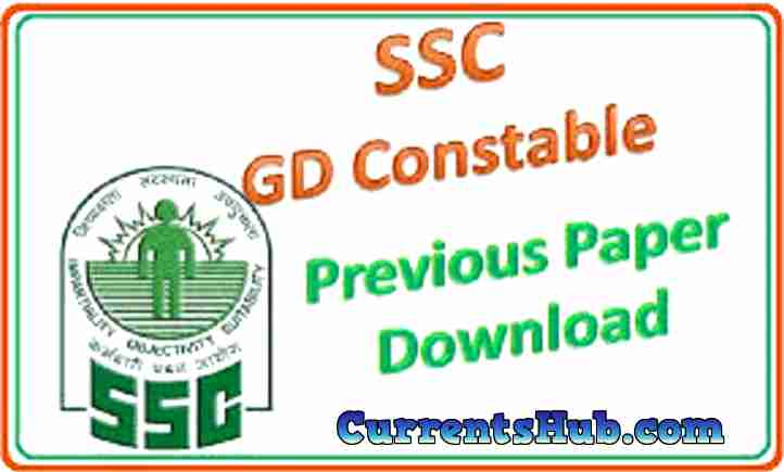 SSC GD Constable Previous Paper