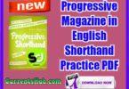 Progressive Magazine in English Shorthand Practice PDF