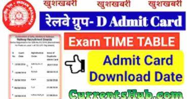 Railway Group D Exam 2018