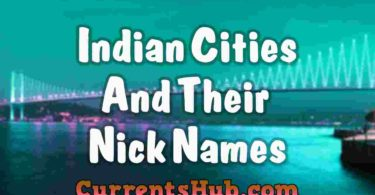 List of Indian Cities and their Nicknames