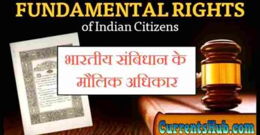 Fundamental Rights in Hindi