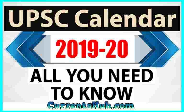 UPPSC Calendar 2019–20