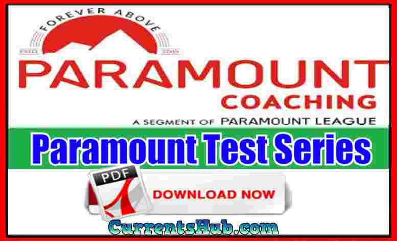 Paramount Test Series