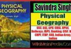 Physical Geography by Savindra Singh