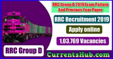 RRC Group D Recruitment 2019