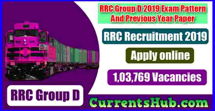 RRC Group D Recruitment 2019