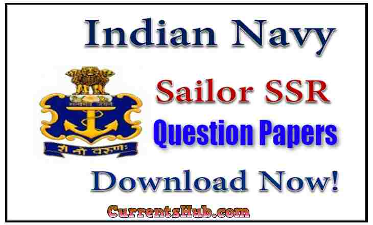 Indian Navy SSR Question Paper