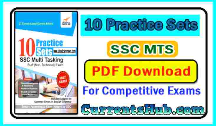 10 Practice Sets for SSC MTS
