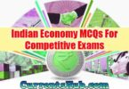Indian Economy MCQs For Competitive Exams