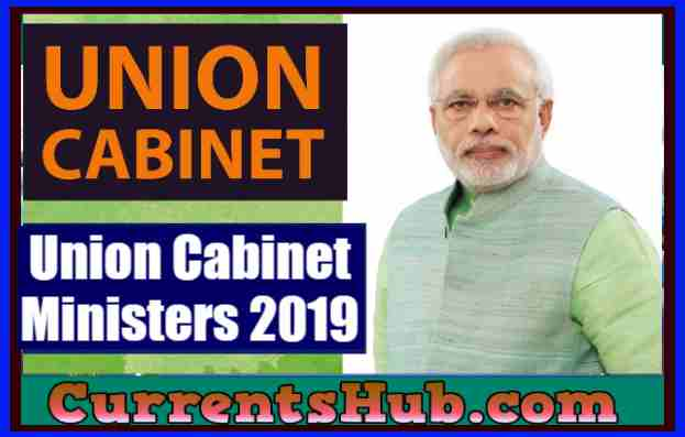 Union Cabinet Ministers 2019
