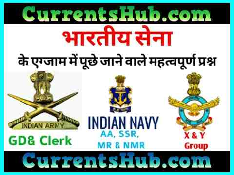 भारतीय थल सेना से संबंधित प्रश्न