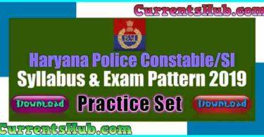 Haryana Police Constable Practice Set