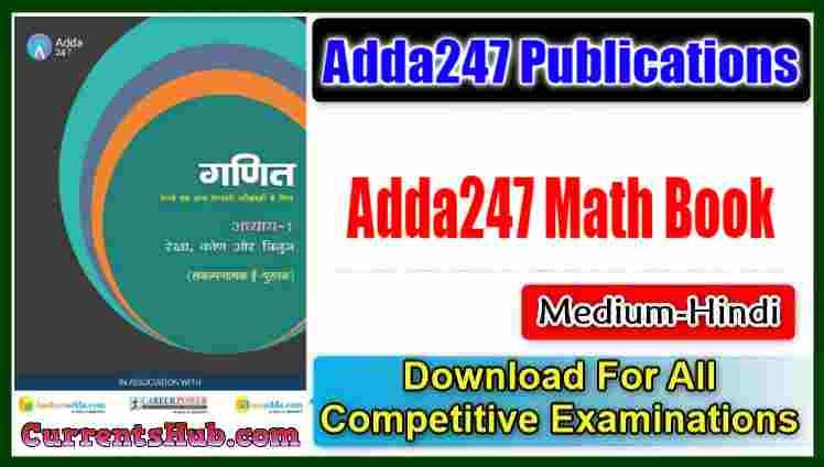 Adda247 Math Book pdf in hindi PDF For All Competitive Exams