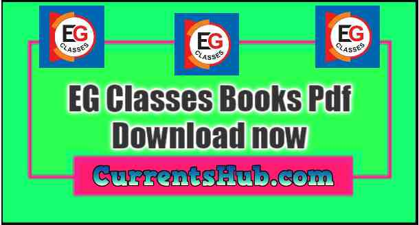 EG Classes Books Pdf