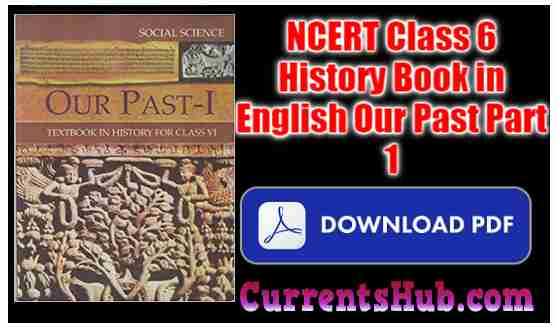 NCERT Class 6 History Book in English