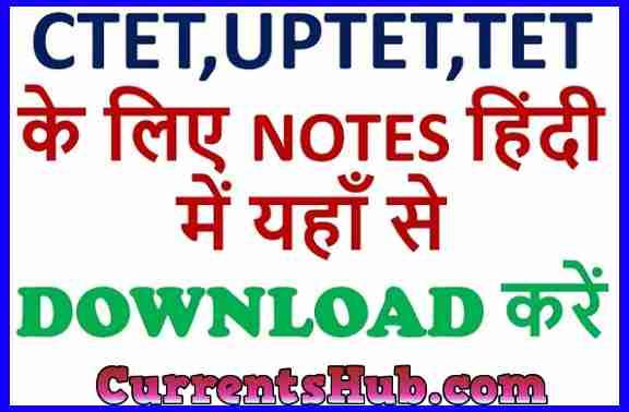 Environment notes in Hindi