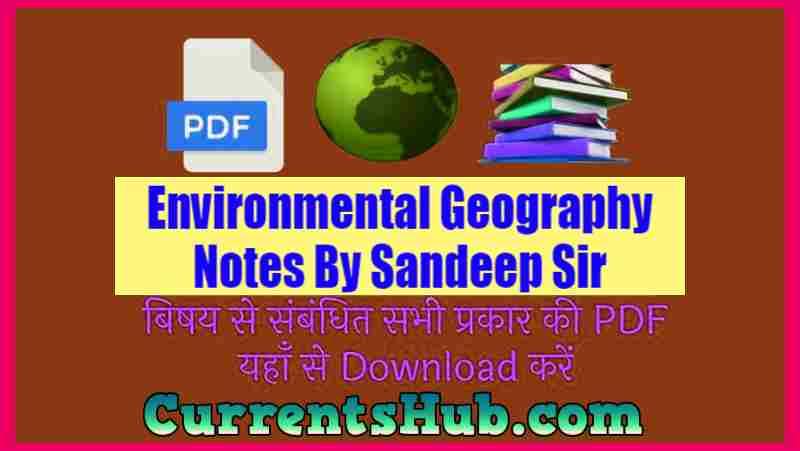 Environmental Geography Notes
