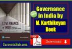 Governance in India Book By M. Karthikeyan Book