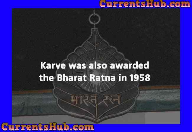 Bharat Ratna Dhondo Keshav Karve