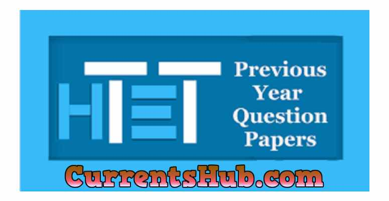 HTET Previous Year Question Papers