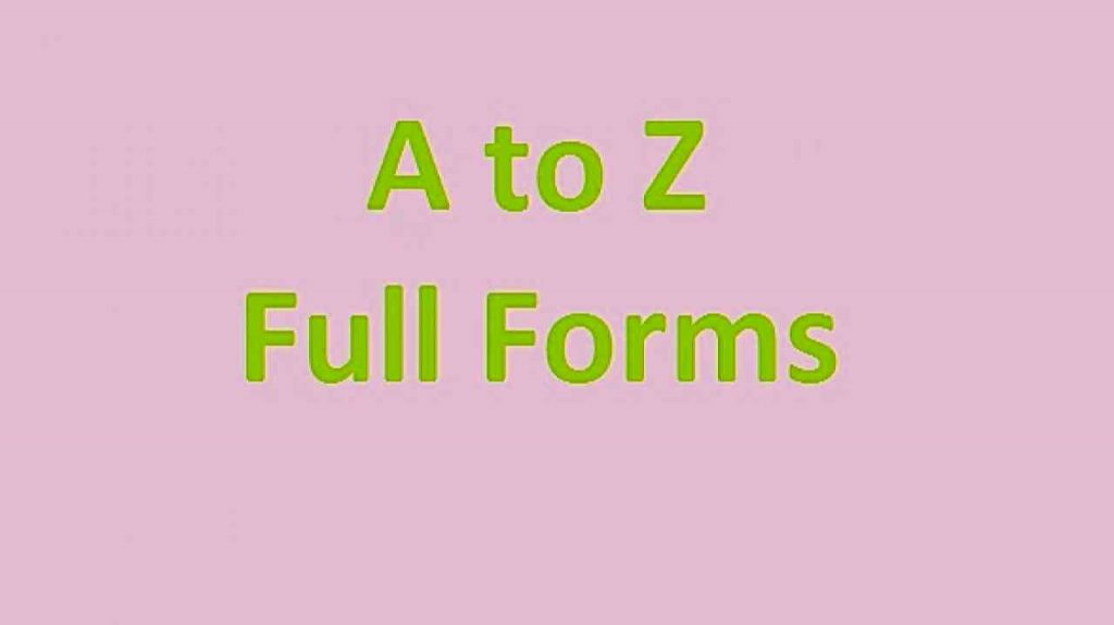 Download ALL COURSES Full Form PDF