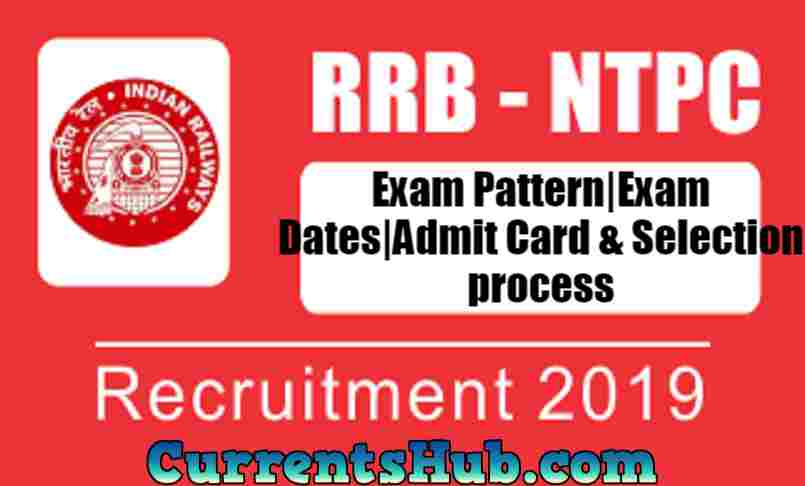 RRB NTPC Exam Pattern|Exam Dates|Admit Card & Selection process
