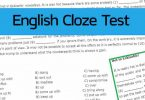 Cloze Test Questions and Answers for SSC CGL