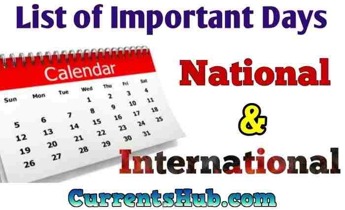 All Important Days Pdf Hindi