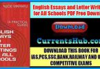 English Essays and Letter Writings for All Schools PDF Free Download