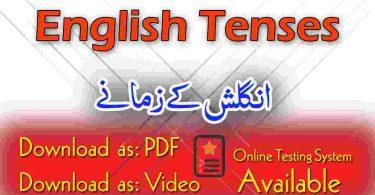 English to Urdu Speaking through Short Sentences in English