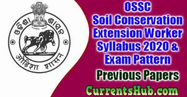OSSC Soil Conservation Extension Worker Syllabus 2020 & Exam Pattern
