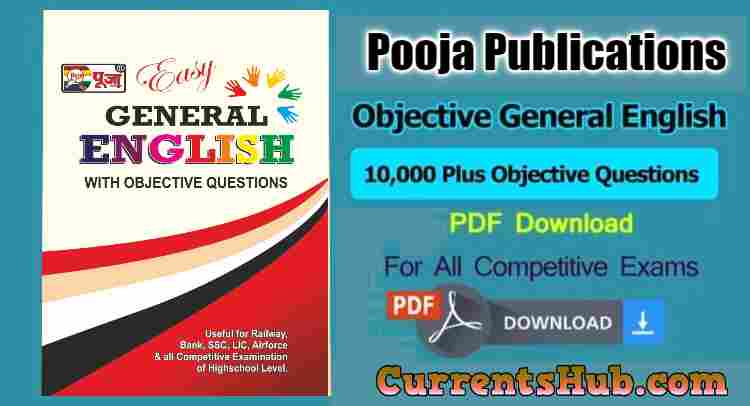 Puja Easy General English with Objective Questions Pdf Download
