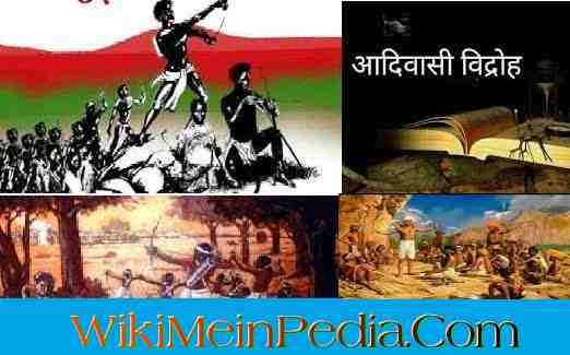 जनजातीय विद्रोह Tribal Movements of India in hindi