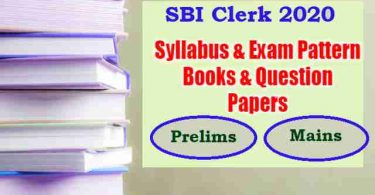 SBI Clerk Syllabus 2020 & Previous Year Question Papers PDF (2009-19)