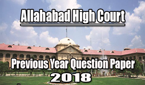 Allahabad High Court Group D Previous Papers PDF Download