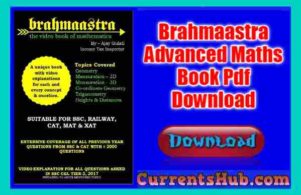 Brahmaastra Advanced Maths Book Pdf Download