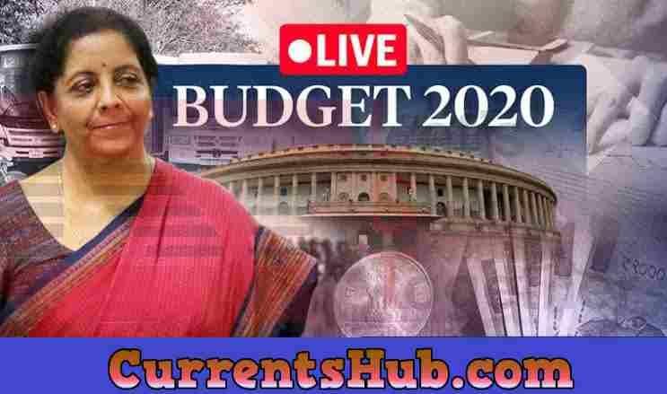 Union Budget 2020 (केन्द्रीय बजट 2020 – 2021) in Hindi in PDF