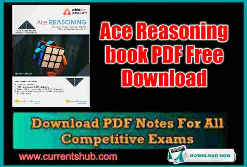 Ace Reasoning book PDF Free Download